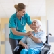 Nurse Caring for Older Woman