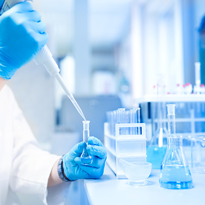 Test Tubes in Research Pharma