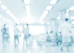 Blurred Hospital